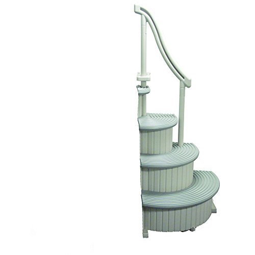 Confer Curve add-on unit for aboveground - Wedding Pool Step Cake