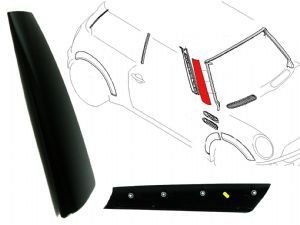 Pillar Moulding - Genuine Mini Cooper R50/r52/r53 Right A-pillar Moulding Trim Cover 51137128158