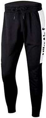 ナイキ NIKE エア フリース パンツ S ブラック/ホワイト/ブラック/(ユニバーシティレッド)