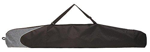 Skisack prodecon Aspen 170 für 1 Paar Alpinski oder Langlaufski + Stöcke - Farbe black-stonegrey