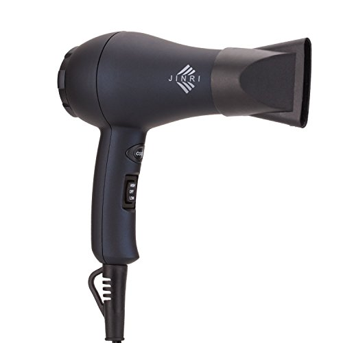 Xlinder 1000W Professional Hair Dryer Mini Blow Dryer Ionic Ceramic Travel Hair Dryer with Styling Concentrator for Children (Shot Hot Air 6')