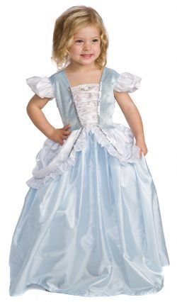 Cinderella Princess Dress-up Costume - size MEDIUM (3-5)
