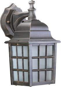 Quorum 798-5 Thomasville - One Light Wall Lantern, Rust Finish with Opal - Light Thomasville Fixtures