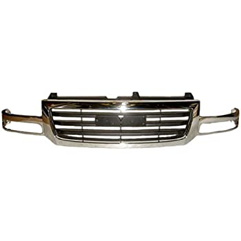 OE Replacement GM1200475 GMC Sierra Pickup Grille Assembly