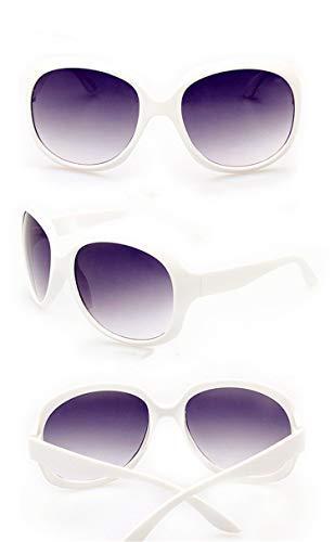 Classic Sunglasses Women Oval Shape Fashion Sunglasses Women Brand Design Uv400 Vintage,White ()
