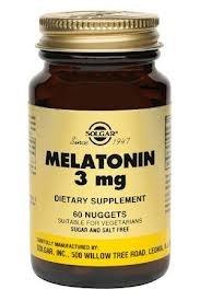 Solgar.melatonin 3mg Nuggets -120 Nuggets. 2 Pack
