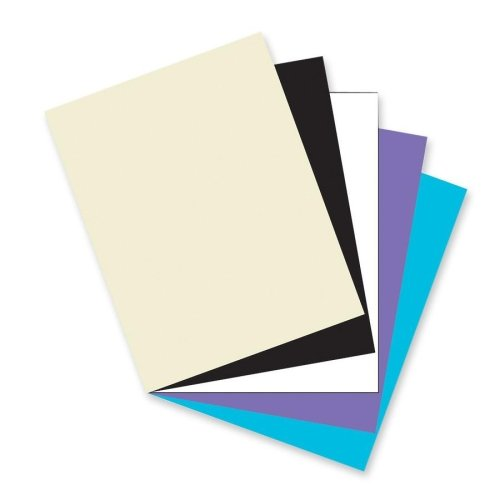 Wholesale CASE of 15 - Pacon Acid & Lignin-free Heavyweight Cover Stock-Card Stock Paper,Classic,65 lb.,8-1/2''x11'',100/PK,Assorted by PAC