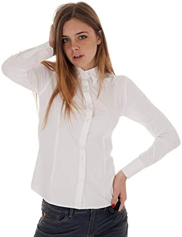 RRD Camicia Shirt Oxford LADY-42 Donna Bianco, 2065009-42