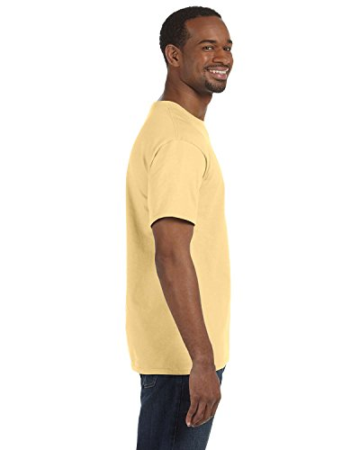 Gildan G5000 Adult Unisex Short Sleeve Heavy Cotton T-Shirt - Yellow Haze G5000 3XL