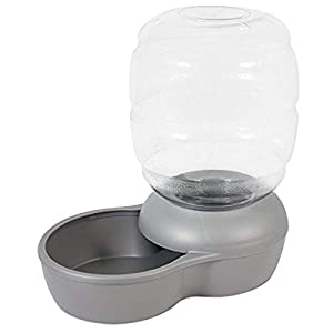 Petmate Replendish Gravity Waterer With Microban for Cats and Dogs, 1 Gallon Click on image for further info.