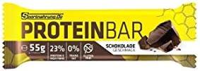 Sportnahrung.de Proteinbar - der hochwertige, leckere Eiweiß Riegel Snack für unterwegs - zur optimalen Unterstützung von Muskelaufbau und -erhalt - 55g (Schokolade)