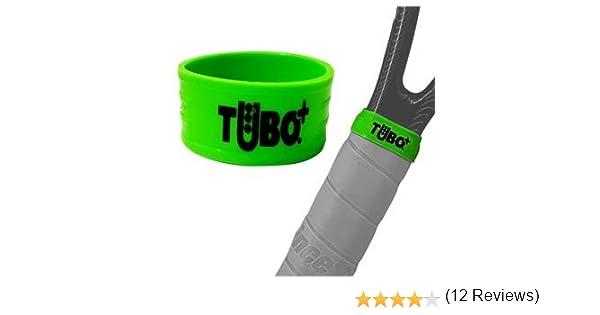 TUBOPLUS Goma Fija Grip para Pala DE Padel O Raqueta DE Tenis (Verde): Amazon.es: Deportes y aire libre