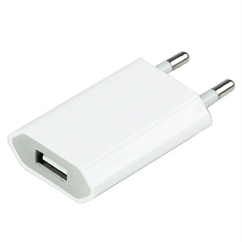 Shaver 2 Round EU Plug USB Converter Charging Port Adaptor