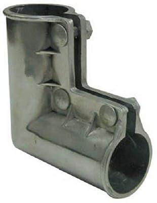 "MIDWEST AIR TECH 328623C 1-3/8"" x 1-3/8"" Aluminum Chain Link Gate Corner Fitting - Quantity 8"