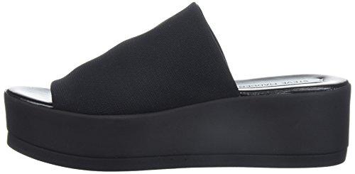 8fc25db006a2 Steve Madden Women s Slinky Platform Sandal Black 8 M US - Import ...