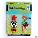Friendly Bands Sunshine Charms Pack (6 Pack), Rock Star