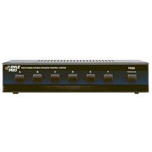 Pyle Pss6 Six Channel Speaker Selector . Speaker Compatible