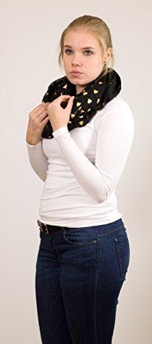Impreso estrellas Loop Accessu para Bufanda de Imitaci Logotipo mujer Bufanda fx4S8