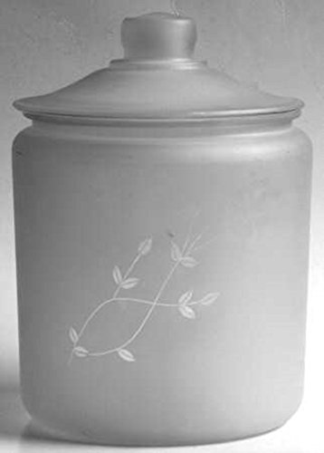 (princess house crystal vintage cookie jar /canister)