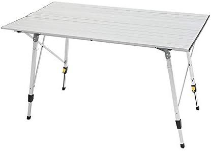 ZXQZ Mesa Plegable, Mesa de Picnic de Aluminio for Exteriores Mesa ...