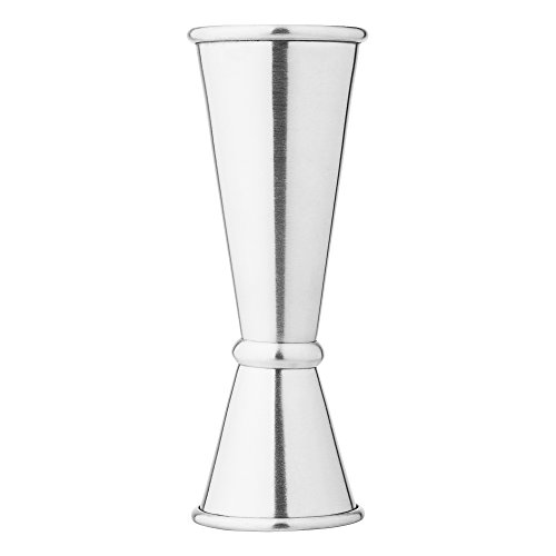 [Vking Japanese Style Jigger Stainless Steel Double Cocktail Jigger 1oz / 2oz] (Japanese Steel Metal)