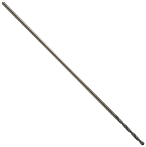 Precision Twist 501 12 High Speed Steel Extra-Long Drill Bit, Black Oxide Finish, Round Shank, Spiral Flute, 135 Degree Point Angle, #13 (Pack of 12) by Precision Twist Drill