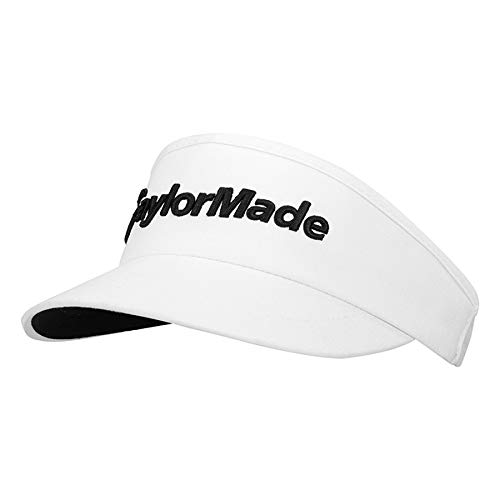 - TaylorMade 2019 High Crown Visor, White