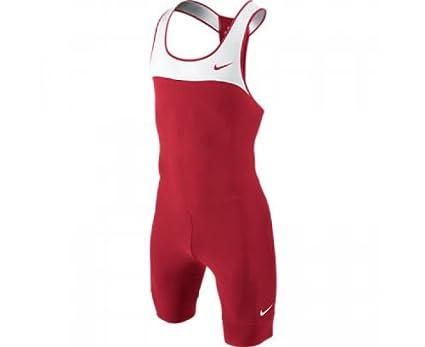 Nike - Chándal de running para hombre Team Unitard, rojo / blanco ...