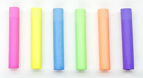 Dustless Fluorescent Chalk 72pcs, 6 colors by Dustless (Image #2)
