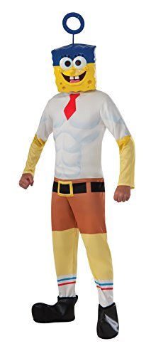 [Rubie's Costume SpongeBob Movie Child Costume, Medium] (Spongebob Squarepants Child Costumes)