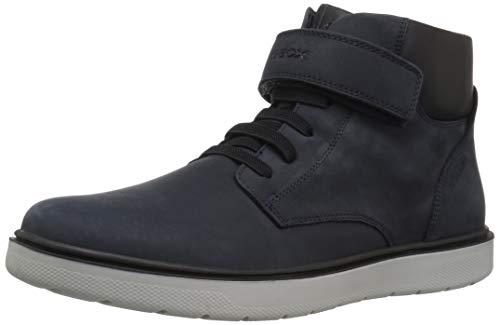 Geox Riddock Boy 1 Waterproof & Insulated Velcro Boot Ankle, Navy, 40 Medium EU Big Kid (6.5 US) (Geox Boots For Boys)
