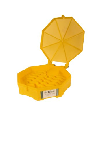 Ultratech 0487 Plastic Bung Access Ultra-Drum Funnel with...