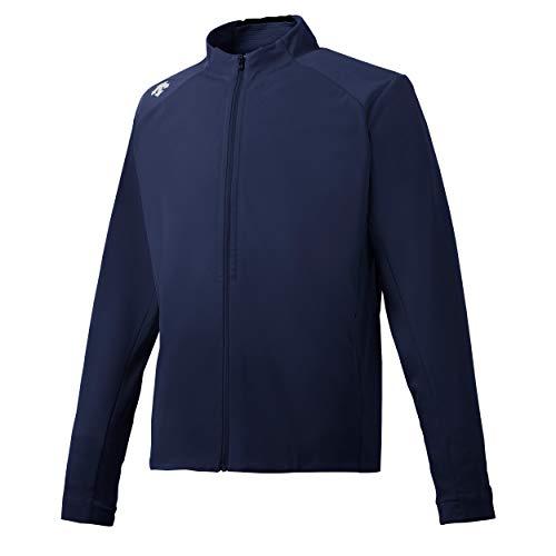 (Descente Men's Triple Tech Utility Athletic Jacket Graphite Navy)