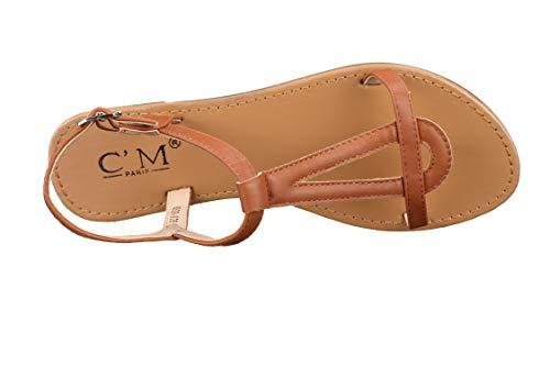 Marron 926 8839 Femme M C Sandales Camel CYT1q