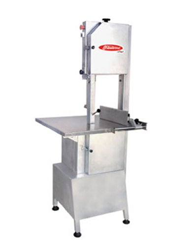 Skyfood Heavy Duty Meat And Bone Saw 111'' Blade 2 Hp 220V/60Hz/3-Phase - All In Stainless Steel