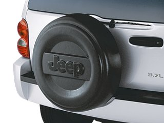 Mopar 82208448 Oem Jeep Liberty Hard Molded Spare Tire Cover