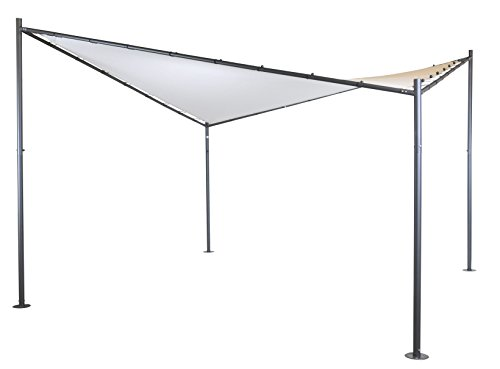 SORARA Garden Butterfly Gazebo Soft Top Outdoor Canopy Gazebo Pavilion, 13'x 13', Sand
