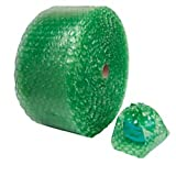 Office Depot Bubble Roll, 1/2in. Thick, 30% Recycled, Green, 12in. x 125ft, 36034-OD
