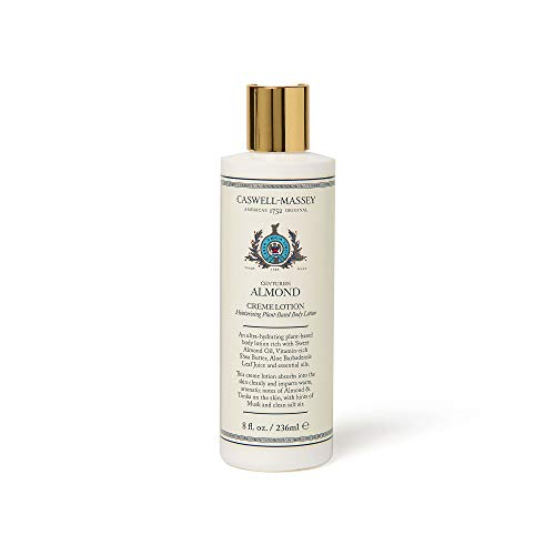 - Caswell-Massey Centuries Almond Creme Body Lotion - Plant-Based Body Moisturizer With A Natural Almond Scent, 8 oz
