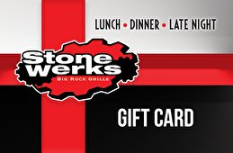 Stone Werks Big Rock Grille Gift Card - 55 Stone