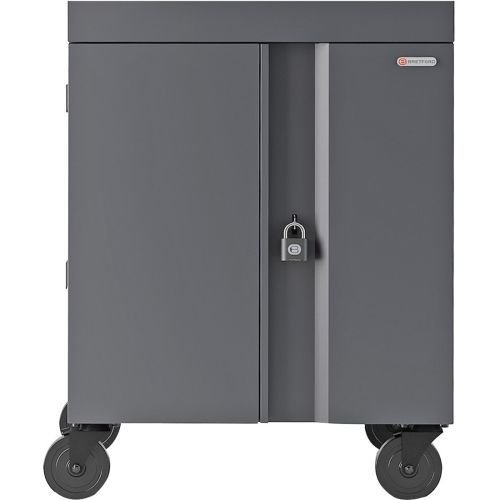 Bretford Cube Cart Netbooks/Tablets Gray, Charcoal (TVC16PAC-CK) ()