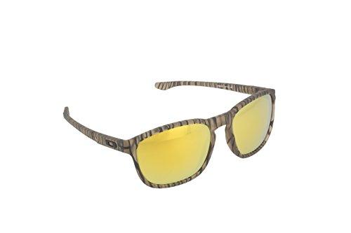 Oakley Men's Enduro Matte Sepia Urban Jungle/24K Iridium Sunglasses  One - Sepia Matte