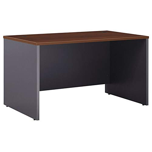 Bush Business Furniture Series C Collection 48W x 30D Shell Desk in Hansen Cherry by Bush Business Furniture
