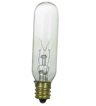 - Lighting Bulb Lamp 10 Pack 15T6/CL/145V 15 Watt T6 Tubular Candelabra Base Clear