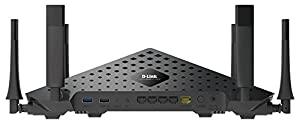 D-Link AC3200 Ultra Tri-Band Wi-Fi Router With 6 High Performance Beamforming Antennas (DIR-890L/B) by Roger David Harris