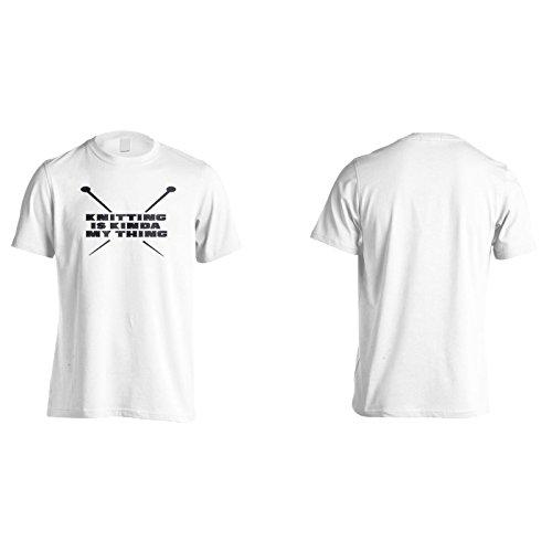 Stricken Ist Irgendwie Mein Ding Herren T-Shirt k997m