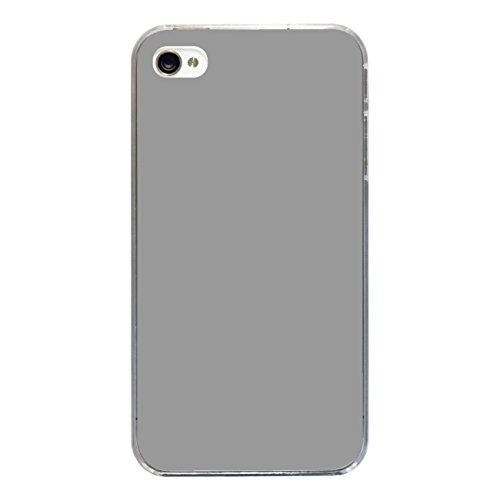 "Disagu Design Case Coque pour Apple iPhone 4 Housse etui coque pochette ""Grau"""
