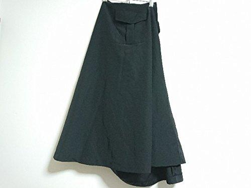 (コムデギャルソン) COMME des GARCONS スカート ロングスカート レディース 黒 【中古】 B07DJ9SYLY  -