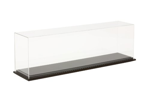 Tamiya 73019 1/350 Display Case w/Wood Base 824x164x237mm