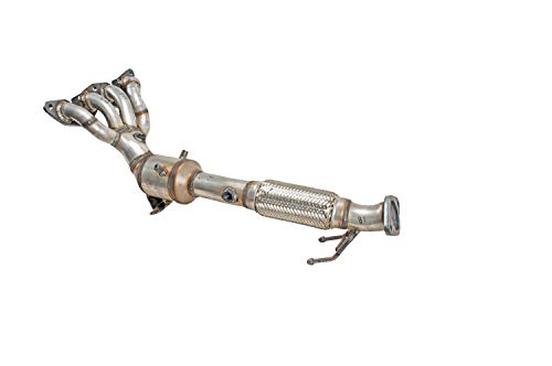 - PACESETTER 757577 Manifold Raw Steel Direct Fit Catalytic Converter, 2012-2016 Ford Focus,L4 2.0 Front